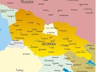 Karte von Georgien
