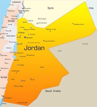 jordanien von w stenlandschaften gepr gt. Black Bedroom Furniture Sets. Home Design Ideas