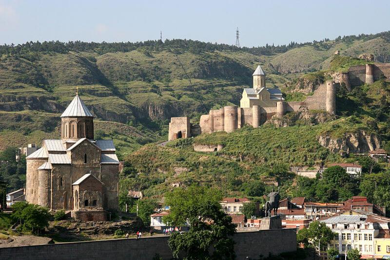 Tiflis - die Hauptstadt von Georgien: