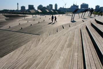 Osanbahi Fährhafen, Yokohama, Japan