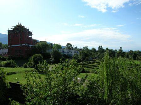 Kloster in Bir - Reisebericht aus Indien
