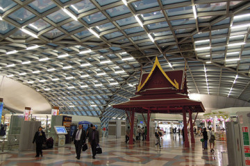 Der Flughafen von Bangkok