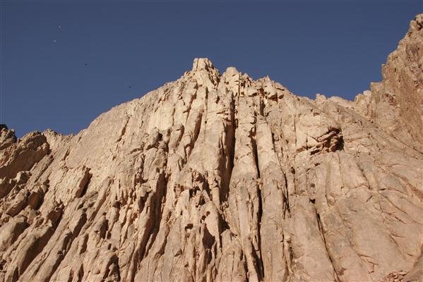 Felsgestein des Berges Sinai (Mosesberg) - Ägypten