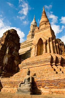 Antike Stadt Sukhothai - Thailand