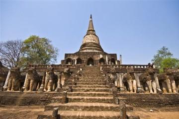 Tempelanlage Wat Chang Lom