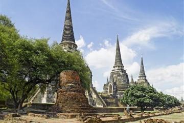 Ayutthaya : Wat Phra Sri Sanphet Tempel