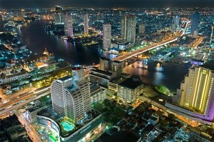 Bangkok bei Nacht - Thailand