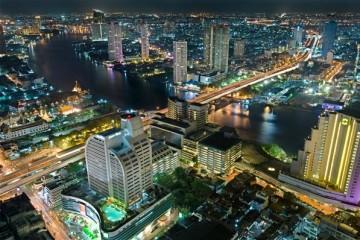 Bangkok bei Nacht- Thailand