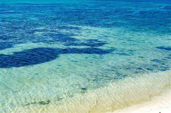 Weißer Strand auf Bantayan