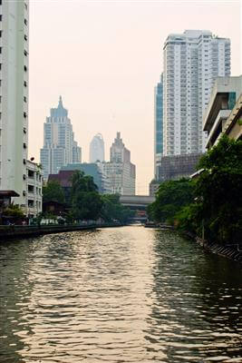 Chao Phraya Fluss - Bangkok