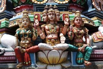 Indouist Tempel Chennai - Indien