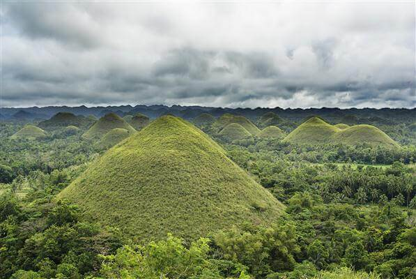 Chocolate Hills Bohol - Philippinen