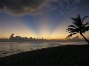 Sonnenuntergang auf Fihalhohi - Malediven