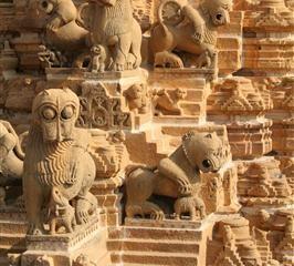 Jaintempel in Jaisalmer - Indien