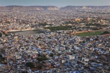 Die Stadt Jaipur - Indien