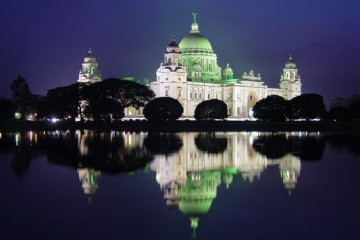 Das Victoria Memorial in Kolkata
