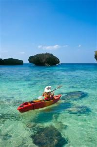 Erkundungstour mit dem Kanu - Malediven