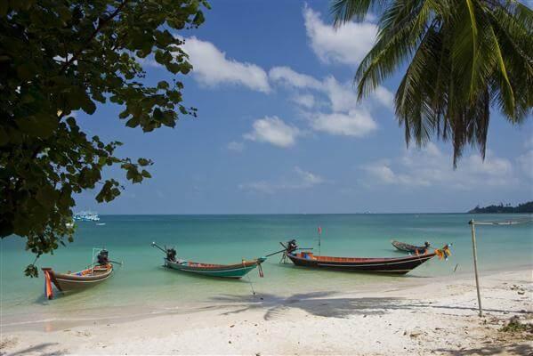Fischerboote - Koh Phangan