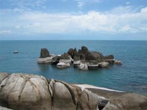 Felsformation auf Koh Samui
