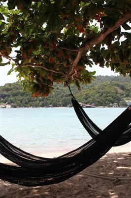 Relaxen am Strand von Koh Tao