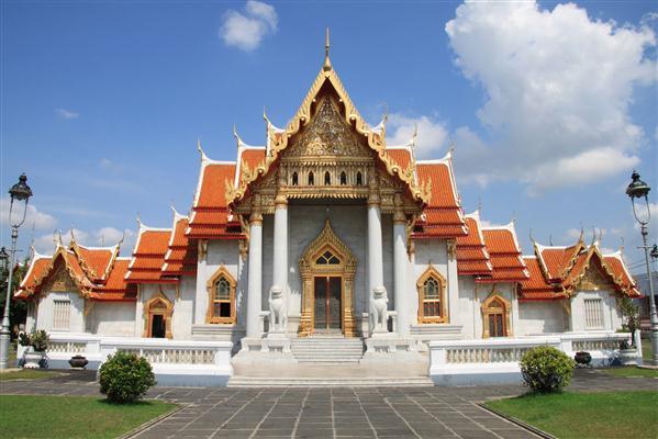 Tempelanlage Wat Bechamabophit - Thailand
