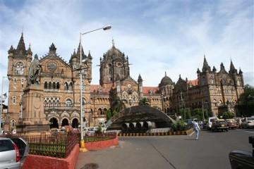 Der Bahnhof von Mumbai - Indien