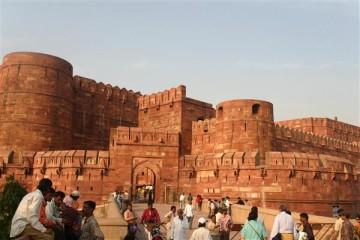 Das rote Fort von Agra - Indien