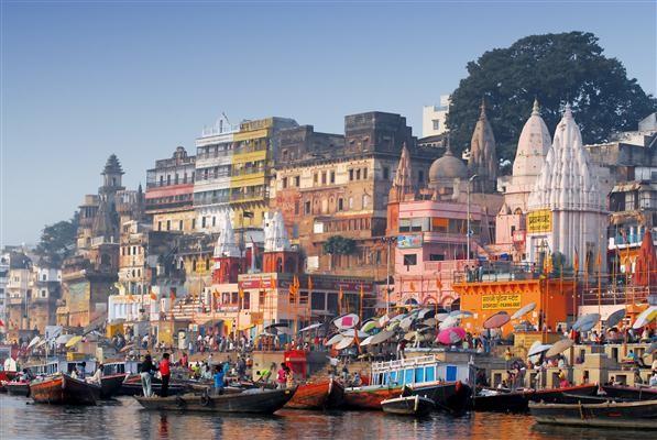 Varanasi die Stadt am Ganges - Indien