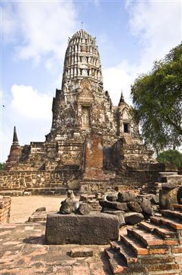 Alte Palastanlage Wang Luang