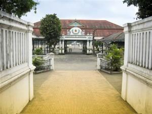 Kraton Palast in Yogyakarta - Indonesien