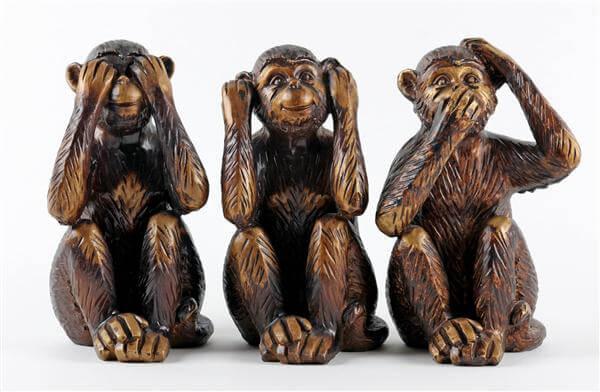 Die 3 Affen - Nikko Tosho-gu