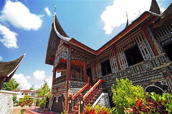 Rumah Gadang Haus - Indonesien