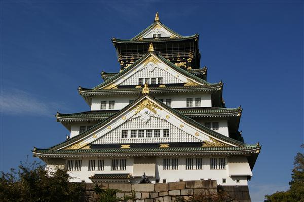 Burg von Osaka - Japan