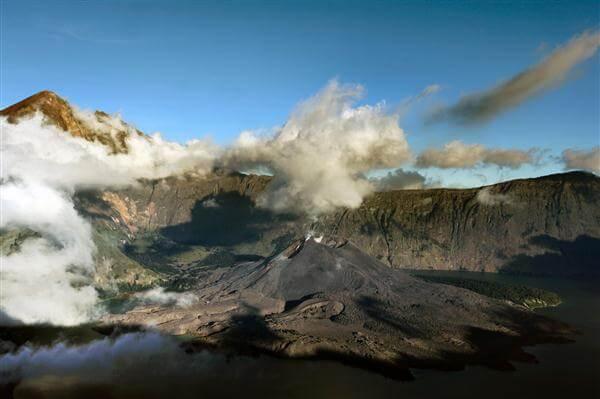 Vilkan Gurung Rinjani, Lombok - Indonesien