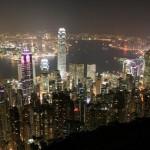 Skyline von Hong Kong - China