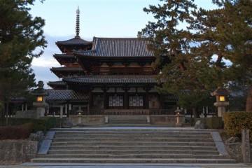 Die Tempelanlage Horyu-ji