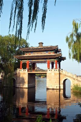 Heutige Brücke am Kaiserkanal