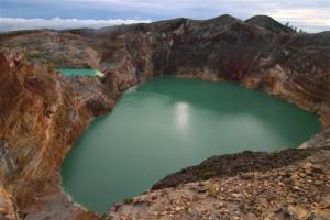 Gunung Kelimutu - Indonesien