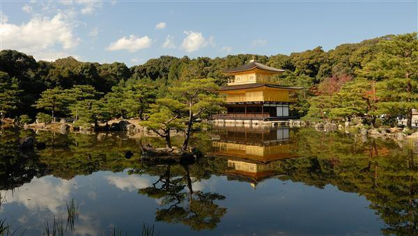 Goldener Pavilion in Kyoto