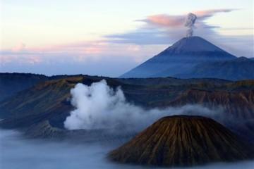 Kraterlandschaft auf Java - Indonesien