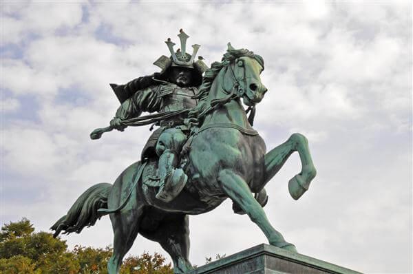 Reiterstandbild Kusunoki Masashige - Tokyo