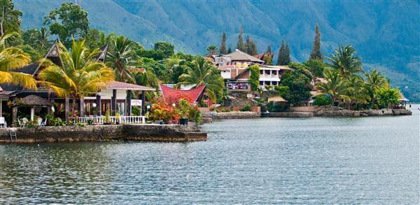 Lake Toba auf Sumatra