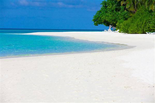 Sandstrand auf Lombok - Indonesien