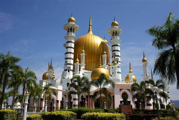 Ubudiah Moschee in Malaysia