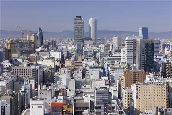 Stadtansicht von Nagoya
