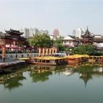 Altstadt in Nanjing, Fu Zi Miao - China