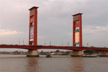 Ampera Bridge, Palembang - Indonesien