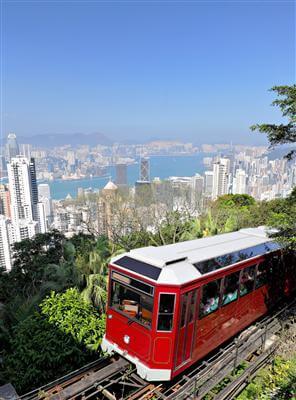 Standseilbahn, Peak Tram - Hong Kong