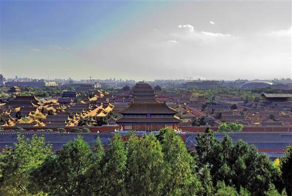 Verbotene Stadt in Peking - China