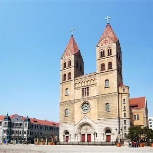Katholische Kirche von Qingdao - China
